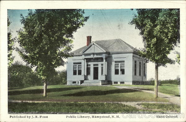 Public Library Hampstead New Hampshire