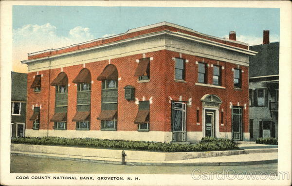 Coos County National Bank Groveton New Hampshire