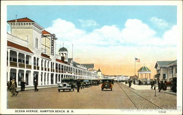 Ocean Avenue Hampton Beach New Hampshire