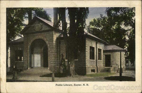 Public Library Exeter New Hampshire