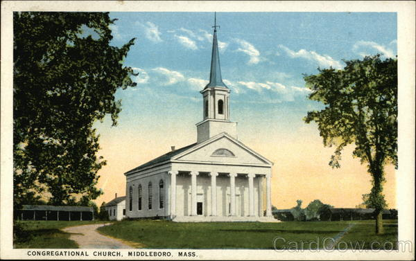 Congregational Church Middleboro Massachusetts
