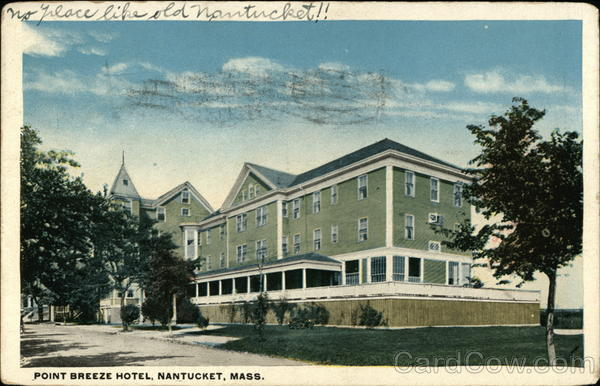 Point Breeze Hotel Nantucket Massachusetts