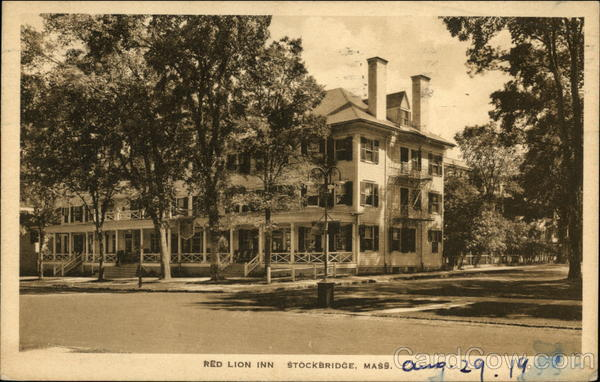 Red Lion Inn Stockbridge Massachusetts