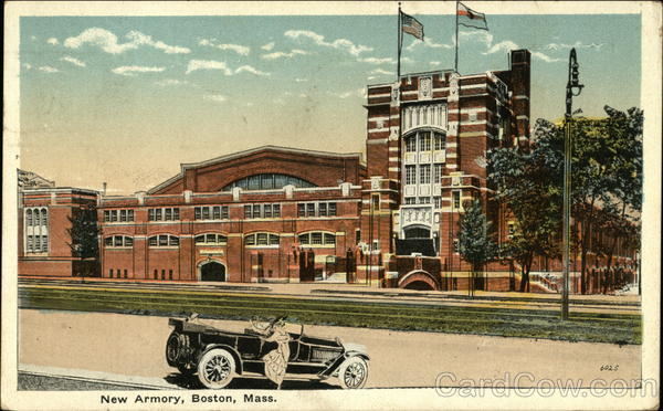 New Armory Boston Massachusetts