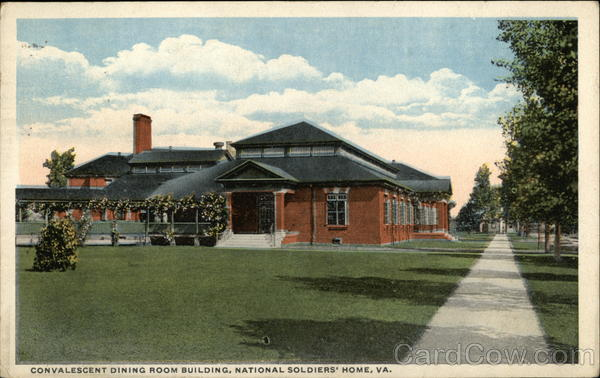 Convalescent Dining Room Building, National Soldiers' Home Newport News Virginia