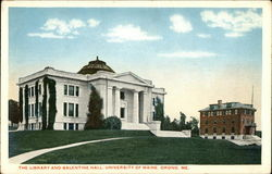 The Library and Balentine Hall, University of Maine