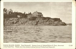 Eagle Island, Maine. Near Harpswell, Summer Home of Admiral Robert E. Peary