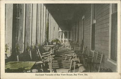 Enclosed Veranda of Bay View House