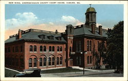 New Wing, Androscoggin County Court House