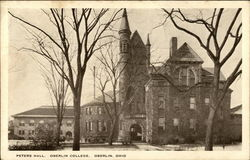 Oberlin College - Peters Hall