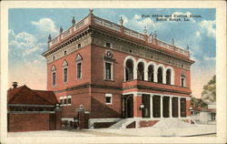 Post Office and Custom House, Baton Rouge, La