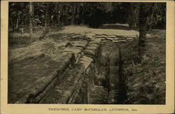 Trenches, Camp McClellan