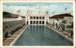 Casino Pool at The Breakers Hotel Postcard