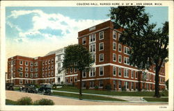 University of Michigan, Nurses Home - Couzens Hall