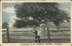 Under the Old Apple Tree, Greetings from Smiths Creek, Michigan