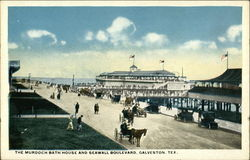 The Murdoch Bath House and Seawall Boulevard