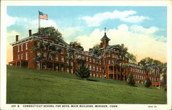 Connecticut School for Boys, Main Building