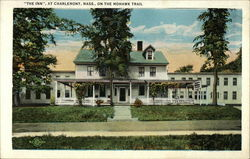 """The Inn"" At Charlemont, Mass., On The Mohawk Trail Postcard"