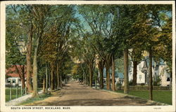 South Union Street, Rockland, Mass