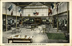 Interior View Red Cross House, Camp Devens