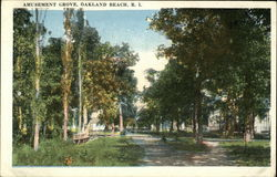 Amusement Grove Postcard