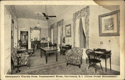 Gentlemen's Waiting Room, Narragansett Hotel