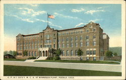 C.F. & I. Co.'s Y.M.C.A. at Minnequa Plant Postcard