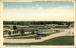 View from Center of Parade Grounds, U.S. National Army Cantonment, Camp Gordon