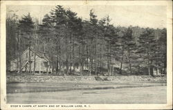 Dyer's Camps at North End of Wallum Lake