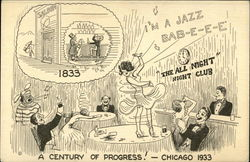 A Century Of Progress - Chicago 1833 - 1933 Postcard