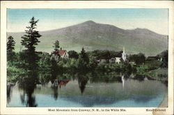 Moat Mountain from Conway, N. H., in the White Mts