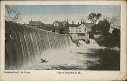 Dam at Pittsfield, N.H