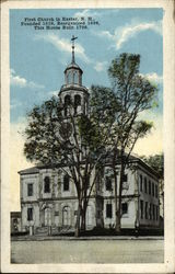 First Church in Exeter, N.H., Founded 1638, Reorganized 1698, This House Built 1798