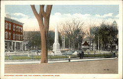 Monument Square and the Common