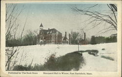 Marquand Hall in Winter