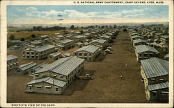 U.S. National Army Cantonment, Camp Devens, Bird's-Eye View of the Camp