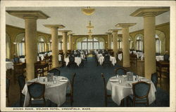 Dining Room, Weldon Hotel