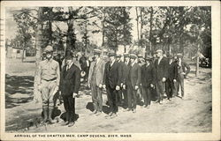 Arrival of the Drafted Men, Camp Devens