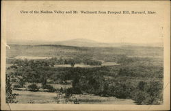 View of the Nashua Valley and Mt. Wachusett from Prospect Hill