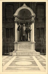 Phillips Brooks Statue, Trinity Church, Augustus St. Goudens, Sculptor