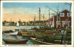 Fishing Boats in the Water on Cape Cod