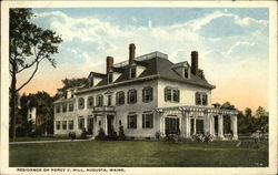 Residence of Percy V. Hill