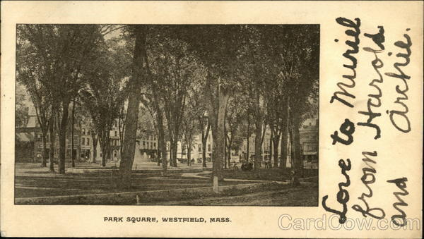Park Square Westfield Massachusetts