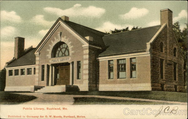 Public Library Rockland Maine