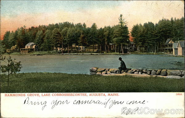 Hammonds Grove, Lake Cobbosseecontee Augusta Maine