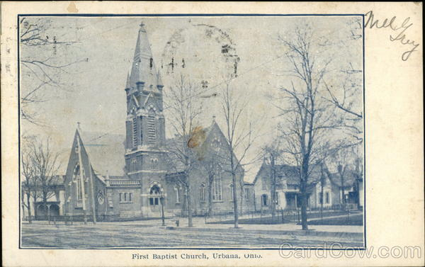 First Baptist Church Urbana Ohio