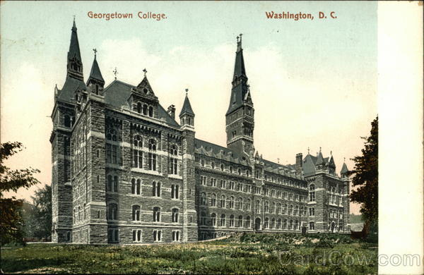 Georgetown College Washington District of Columbia