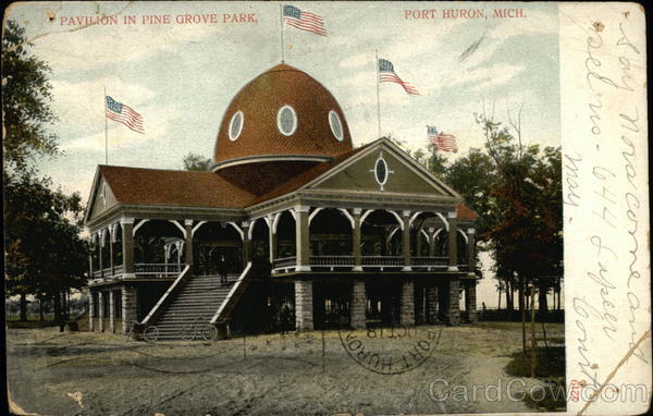 Pine Grove Park - Pavilion Port Huron Michigan