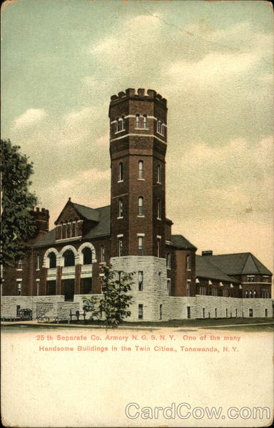 25th Separate Co. Armory N.G.S.N.Y Tonawanda New York