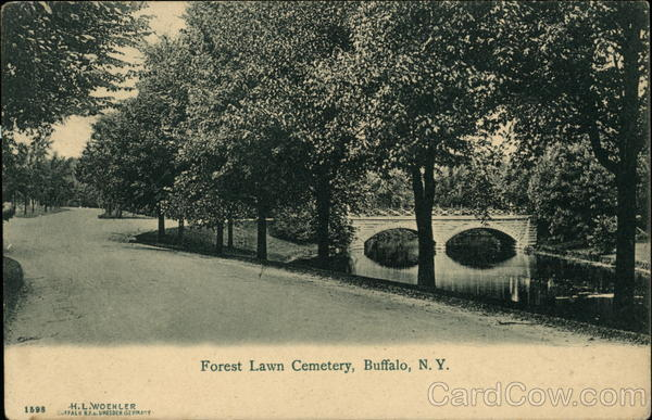 Forest Lawn Cemetary Buffalo New York